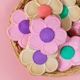 Flower Cookie. Selective focus. Royalty Free Stock Images