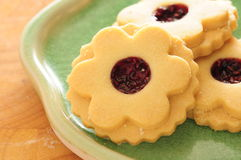 Flower cookies Royalty Free Stock Images