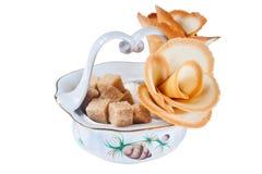 Flower cookies Stock Photo