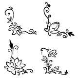 Flower corner Royalty Free Stock Image