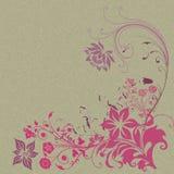 Flower corner Stock Image