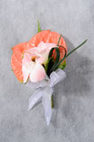 Flower corsage for prom Stock Photography