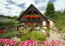 Flower cottage Royalty Free Stock Photography