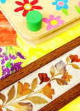 Flower craft hobby Royalty Free Stock Images