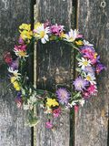 Flower crown Stock Photography