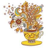 Flower cup vector illustration vector illustration