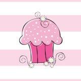 Flower Cupcake Royalty Free Stock Photo