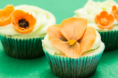 Flower Cupcake Royalty Free Stock Image