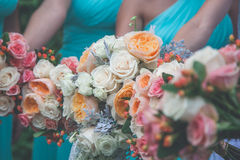 Flower decor Stock Images