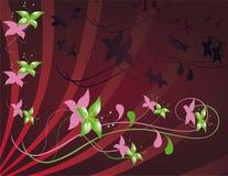 Flower decoration Stock Image