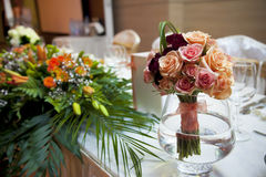 Flower decoration Royalty Free Stock Images