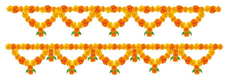 Flower Decoration. Flower arrangement for festival decoration Stock Image