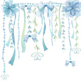 Flower decoration background Royalty Free Stock Images