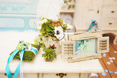 Flower Decoration for Ceremony Stock Image