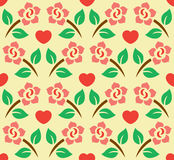 Flower Decoration Pattern 4 Stock Photos