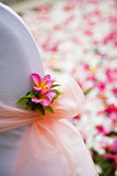 Flower decorations Stock Photography