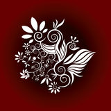 Flower decorative design  Stock Image