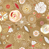 Flower decorative texture Stock Images