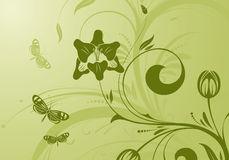 Flower design Royalty Free Stock Photography