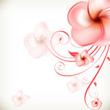 Flower design concept Stock Images