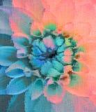 Flower design.digital painting Stock Photo