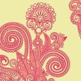 Flower design element Stock Images