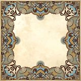 Flower design on grunge background Royalty Free Stock Photos