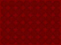 Flower Design Red Background Royalty Free Stock Photography