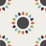 Flower design wallpaper. Stock Photography