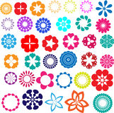 Flower designs Stock Photos