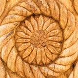 Flower wood detail Royalty Free Stock Photos