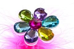 Flower diamond Stock Photography