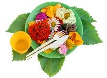 Flower diet Stock Image