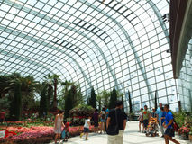 Flower Dome. Is located at Gardens By The Bay, Singapore Stock Photography