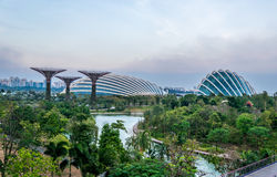Flower Dome. Garden by the bay attraction Royalty Free Stock Photos