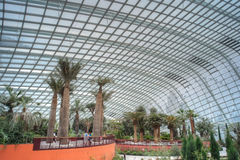 Flower Dome, Gardens by the Bay Stock Photo