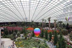 Flower Dome, Gardens by the Bay 2 Stock Photos