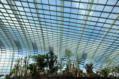 Flower Dome,Gardens by the Bay Royalty Free Stock Photography