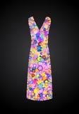 Flower Dress Royalty Free Stock Photo