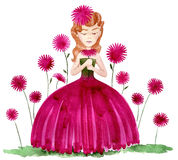 Flower dress Royalty Free Stock Images