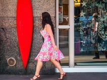 Flower Dress Manhattan Royalty Free Stock Images