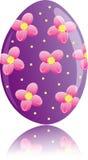 Flower Easter egg Royalty Free Stock Image