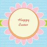 Flower of Easter eggs Royalty Free Stock Image
