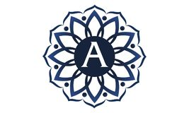 Flower Elegance Initial A. Logo Design Template Vector Stock Photos