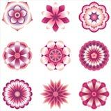 Flower Element Set Stock Images
