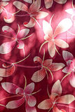 Flower fabric Stock Image