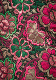 Flower Fabric Stock Images