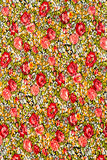 Flower fabric background Stock Photo