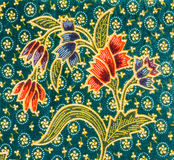 Flower fabric background Royalty Free Stock Photo