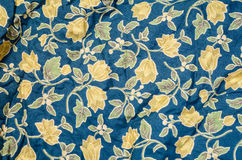 Flower Fabric Stock Photography